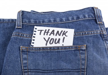 April 24, 2019 - Wear Your Denim Today!