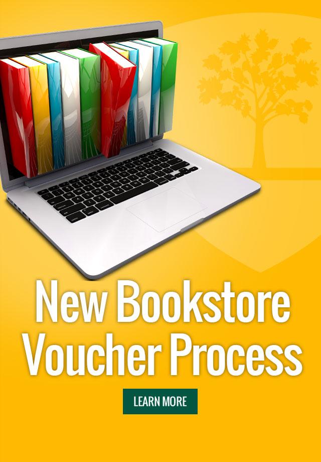 New Bookstore Voucher Process