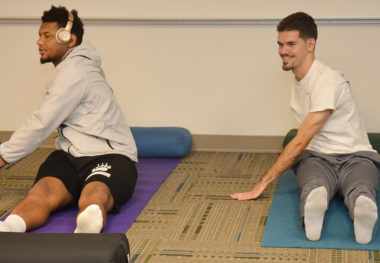 March 27, 2018 - Yoga in the Gym