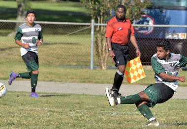 October 7, 2017 - Richard Bland Soccer vs. Patrick Henry Community College