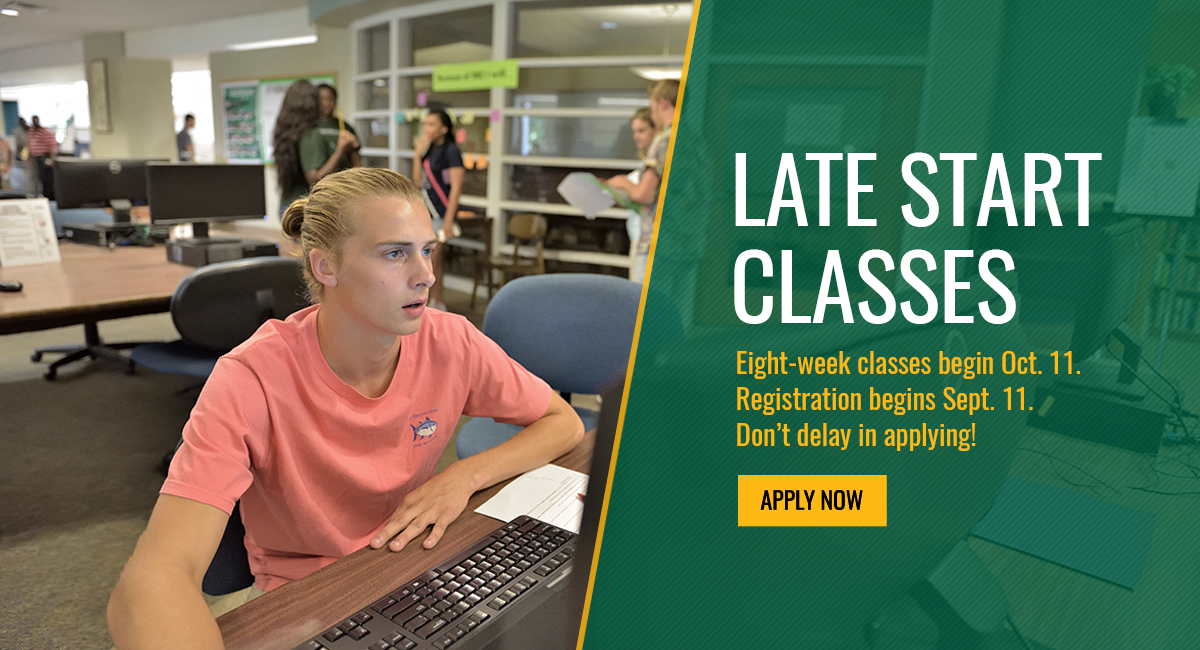 Late Start Classes Begin Oct. 11