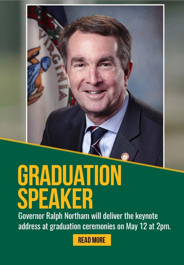Governor Northam Commencement Speaker