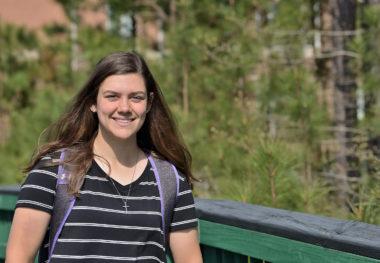 Statesman Scholar Kayla Hand