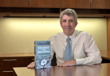 Professor David McCarthy Unveils Book on the CIA