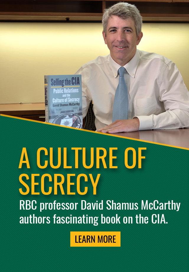 David McCarthy CIA Book