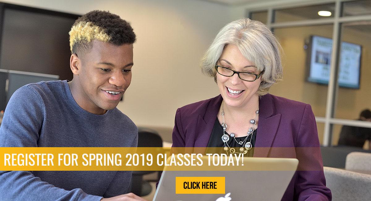 Register Spring 2019 Classes