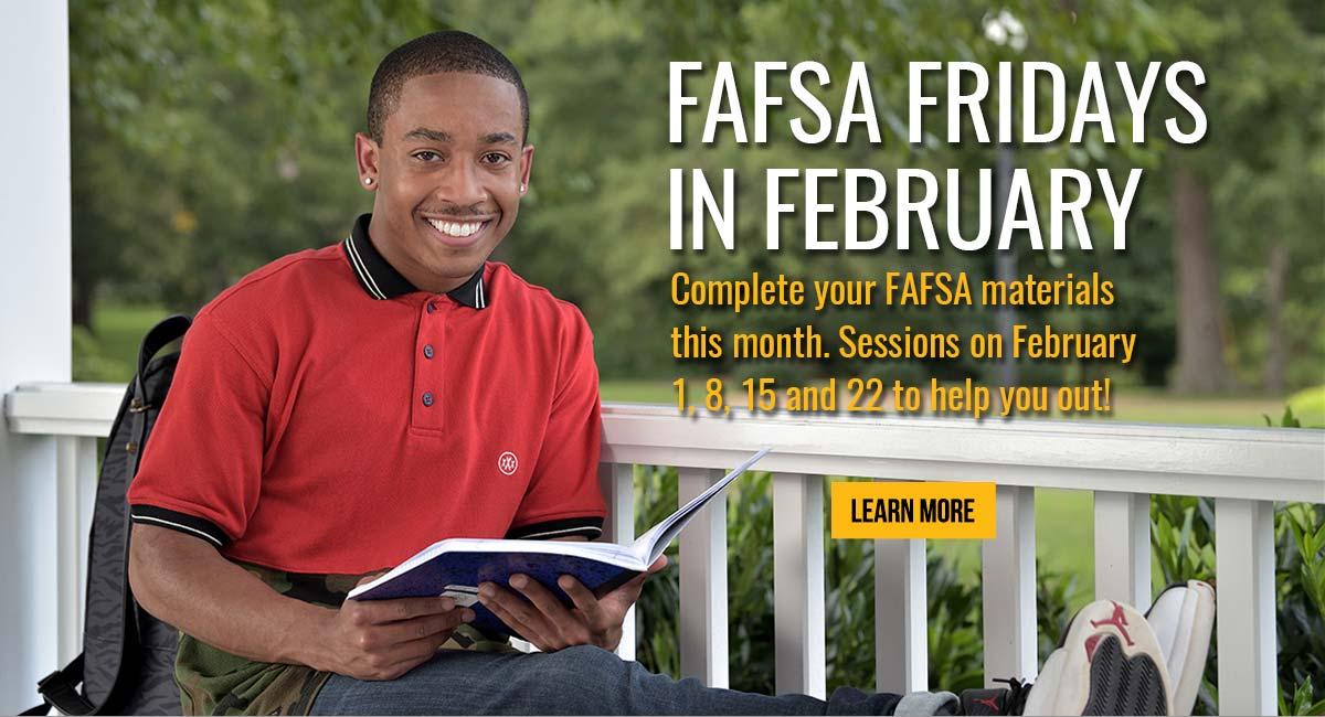 FAFSA Fridays