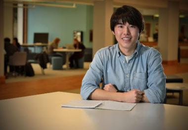 Statesman Scholar Mike Ahn