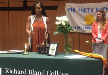 Richard Bland College Announces Increase in Honor Society Inductees
