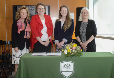 Richard Bland College Signs Honors Program MOU with Mary Washington