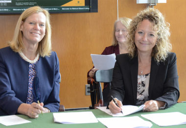 Richard Bland College of William & Mary Signs Nursing Agreement with Shenandoah University