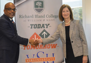 Richard Bland College announces Transformative Partnership with VSU