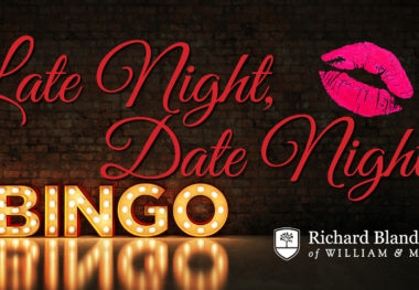 April 15, 2020 - Late Night, Date Night Bingo (postponed until fall 2020)