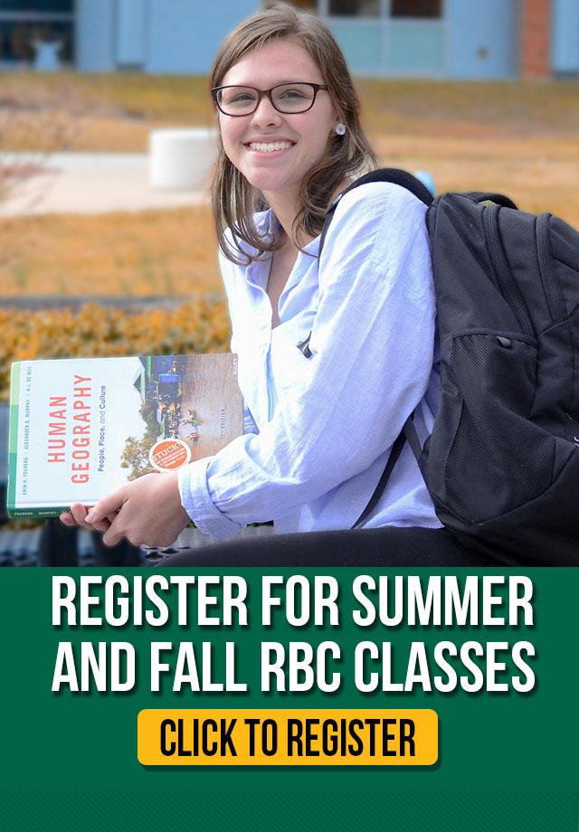 Summer & Fall Registration