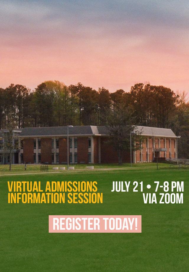 Virtual Admissions Session