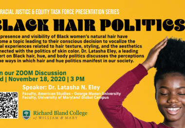 November 18, 2020 - Black Hair Politics