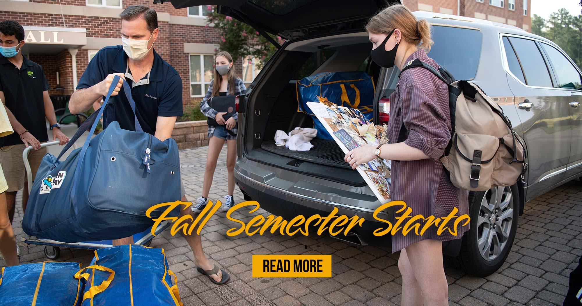 Fall Semester Starts