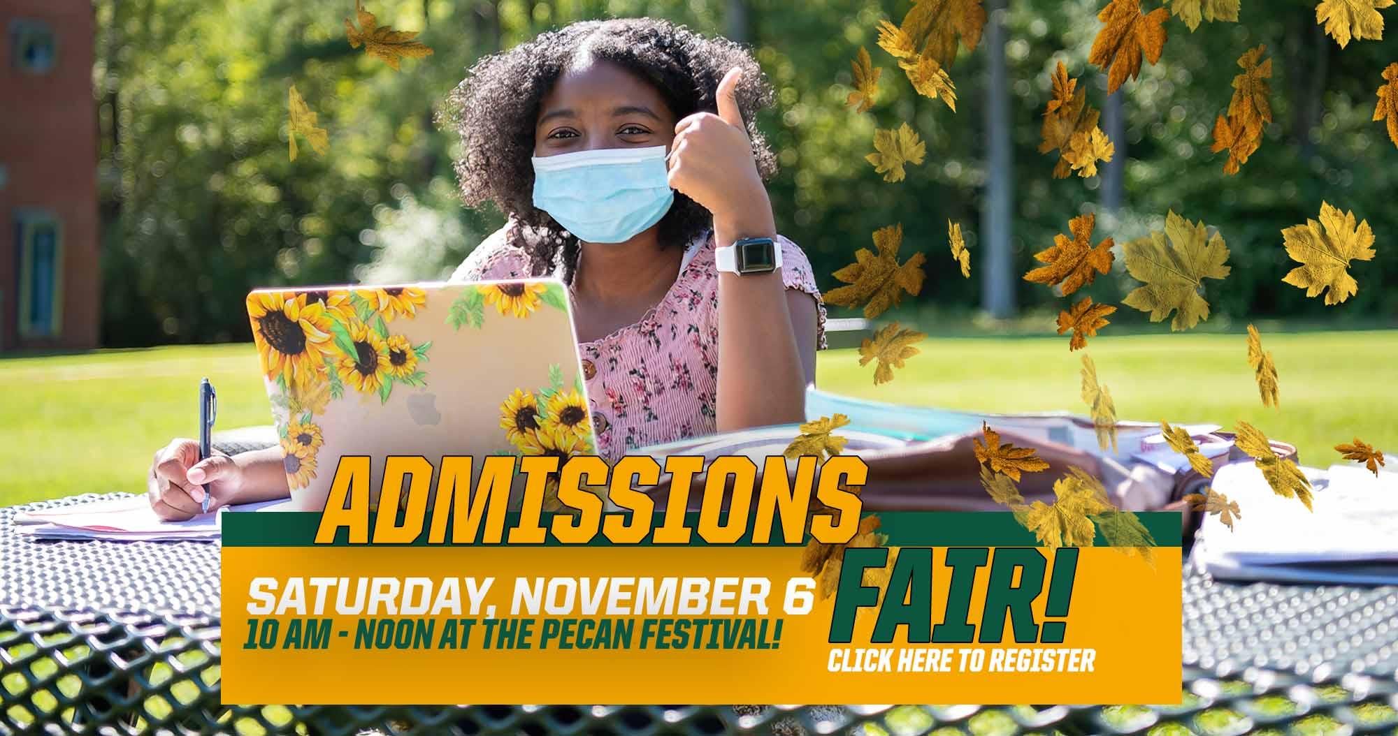 November Admissions Fair