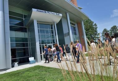 July 29, 2016 - New Student Advising/Registration